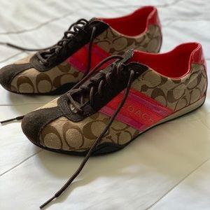 Like new Coach gym shoes